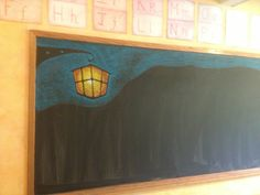 November blackboard