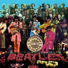 gif trippy music rock vintage the beatles psychedelic The Beatles gif oldies Sgt Peppers Lonely Hearts Club Band the Paul Mccartney, Sgt Pepper Cover, Sgt Pepper Album, Trippy Music, Beatles Sgt Pepper, Les Beatles, Beatles Guitar, Beatles Art, Peter Blake