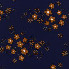 Cotton + Steel Clover rayon - meadow copper - 50cm