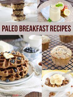 All the Paleo breakfast recipes on InspringCooks.com
