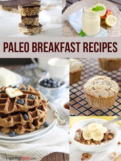 All the Paleo breakfast recipes on InspringCooks.com