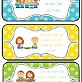 Un nouvel affichage pour les règles de vie - 1, 2, 3, dans ma classe à moi...