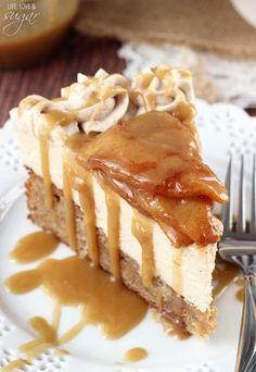 Caramel Apple Blondie Cheesecake Recipe - RecipeChart.com