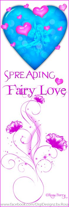 Spread Fairy Love by reading the really soon to be released 'Chronicling of Ilithia' by Ashlee North... it's a fairy story for all ages - go to http://ashleenorthauthor.com/ for sneak peek