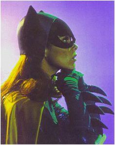 Yvonne Craig as Batgirl.