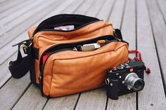 The best bag possible for a Leica M. Ronin x A&A camera bag.
