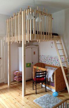 1000 images about hochbetten on pinterest berlin loft beds and bunk bed. Black Bedroom Furniture Sets. Home Design Ideas