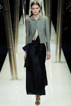 Armani Privé Spring 2015 Couture Fashion Show - Alexandra Elizabeth (Elite)