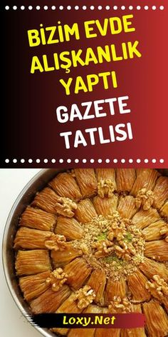 Unser Home Addictive Newspaper Dessert Rezept Delicious Desserts, Dessert Recipes, Yummy Food, Little's Coffee, Arabic Sweets, Homemade Beauty Products, Perfect Food, International Recipes, Food And Drink