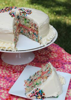 Making a layered birthday cake can be intimidating, especially if it's going to be sitting on display at a party for all to admire. So I've...