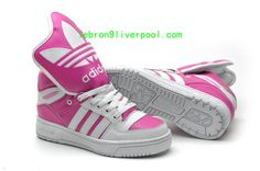 hot sale online 05ada beff2 this site sells Adidas shoes for half the price. White PJeremy ScottAdidas  ShoesSneakers FashionHot PinkAttitudeNew ...