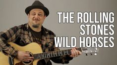 The Rolling Stones - Wild Horses Guitar Lesson - Tutorial - Chords - How...