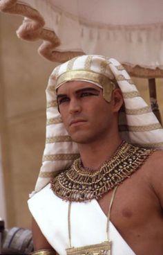 Eddie Cibrian as Joseph Egyptian Costume, Egyptian Art, Egyptian Mythology, Pharoah Costume, Ramses, Eddie Cibrian, Egyptian Fashion, Prince Of Egypt, Egyptian Wedding