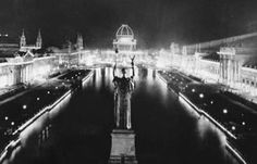 Night photos: 1893 Columbian Exposition