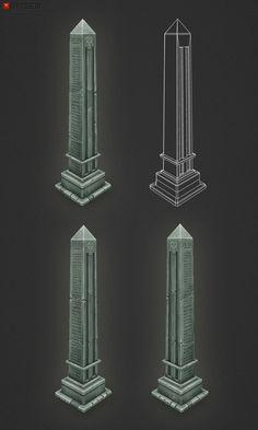 Low Poly Obelisk