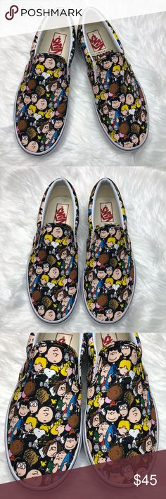 19ea302157 PEANUTS X VANS Classic Slip-On Size 8.5 Unisex PEANUTS x VANS 2017  Collection New