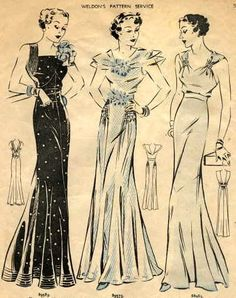 1935 Weldon's Pattern Service!! No relation, but still...