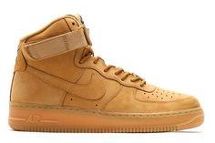 "a413513f29117 NIKE AIR FORCE 1 HIGH ""WHEAT"" Nike Air Force High"