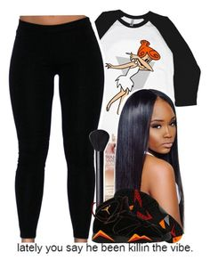 . by independentbxtchesonly on Polyvore featuring polyvore, fashion, style, NIKE and clothing