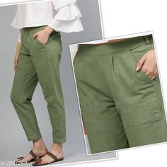 Trousers & Pants Trendy Pure Cotton Flex Women's Solid Pencil Pant Fabric: Pure Cotton Flex Waist Size: S- 28 in M - 30 in L - 32 in XL - 34 in XXL - 36 in Length: Up To 37 in Type: Stitched Description: It Has 1 Piece Of Women's Pencil Pant Pattern: Solid Country of Origin: India Sizes Available: S, M, L, XL, XXL   Catalog Rating: ★4 (501)  Catalog Name: Diva Trendy Pure Cotton Flex Women's Solid Pencil Pants Vol 9 CatalogID_381110 C79-SC1034 Code: 183-2807249-939