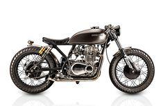 '76 Kawasaki KZ400 – Tattoo Custom Motorcycles