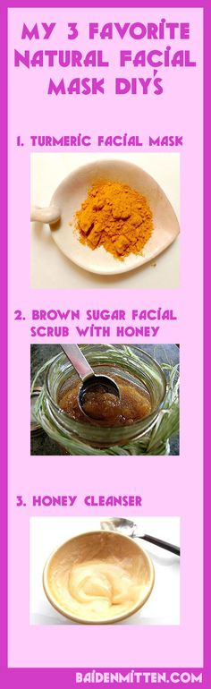 DIY : 3 natural facial mask to treat sunburn, stretch marks, pimples, acne, blackheads & also to keep your skin naturally hydrated.