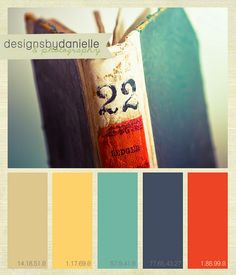 Color Inspiration--these are totally my baby's nursery colors!