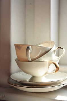 Tea cups...you can never have too many!!!~ Spoken like a true tea drinker!!!~