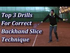 Top 3 Drills For A Better Backhand Slice - YouTube