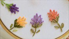 Flores em ponto Marg