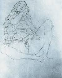Afbeeldingsresultaat voor gustav klimt erotic drawings