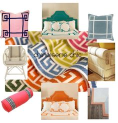 Chinoiserie Chic: Sources for Greek Key Trim and SAMUEL AND SON trim, fab.