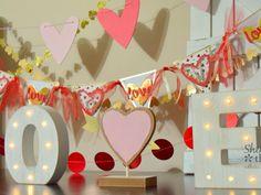 Create a Gina K Designs Valentine Banner