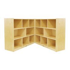 "ECR4Kids Fold and Lock 36"" High Storage Cabinet"