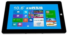 "Tablet PC Chuwi Vi10; de 10.6"", con Android 4.4 y Windows 8.1"