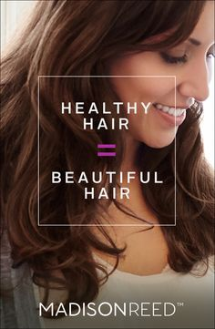Healthy, Vibrant, Natural-looking hair is what you will get from Madison Reed Color. It contains none of the harsh chemicals of drugstore color like PPD, and is packed with nutrients for softer, shinier, healthier hair. Experience what healthy, vibrant hair color looks and feels like today!