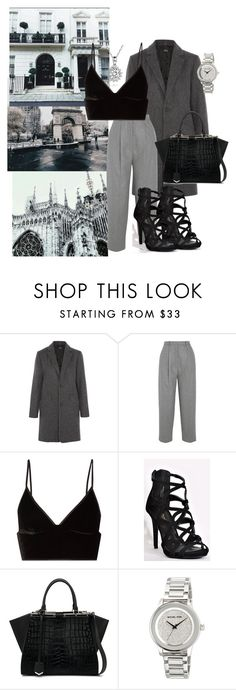 """""""Untitled #81"""" by raw-s ❤ liked on Polyvore featuring A.P.C., Acne Studios, T By Alexander Wang, Fendi and MICHAEL Michael Kors"""