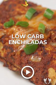 Wholesome Yum | Natural, gluten-free, low carb recipes. 10 ingredients or less. Low Carb Enchiladas by Wholesome Yum. This easy recipe works great for quick lunch or dinners. Pin made by GetSnackable.com #Enchiladas #LowCarb<br> Low Carb Recipes, Cooking Recipes, Healthy Recipes, Healthy Fats, Mexican Food Recipes, Vegetarian Recipes, Low Carb Enchiladas, High Protein Low Carb, Food Words