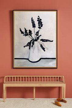 Dark Flowers Wall Art | Anthropologie Plexiglass Panels, Dark Flowers, Mirror Wall Art, Hand Painting Art, Wall Art Quotes, Home Decor Wall Art, Fine Art Paper, Diy Art, Gallery Wall