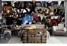 Aliexpress.com: Compre Frete Grátis Poster do Filme de grande escala mural café sala de estar quarto restaurante casa de chá de lazer bar papel de parede mural de confiança poster do filme fornecedores em Aaron  Jobs's store