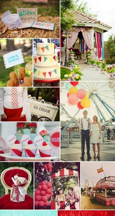 Great Carnival Circus Or Quirky Outdoor Wedding Ideas