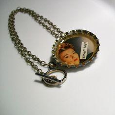 Bitter Bottlecap Necklace