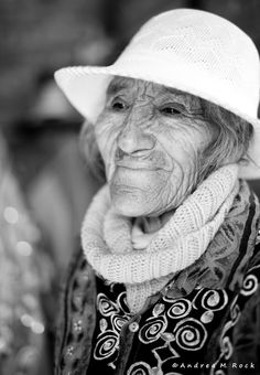 I think she is beautiful. I love the look in her eyes and her smile. I could spend hours talking to her if I knew her.