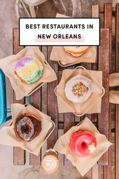Best restaurants, bars to drink at, local shops, and things to do in New Orleans. This is your ultimate guide to New Orleans best restaurants. New Orleans Vacation, Visit New Orleans, New Orleans Travel, Nola Vacation, Vacation Ideas, New Orleans Best Restaurants, New Orleans Recipes, Louisiana Recipes, Cajun Recipes