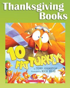 Pre-K books to read. Best Thanksgiving Pre-K and Kindergarten books. Thanksgiving picture books to read aloud during the month of November with a focus on being thankful and turkeys. Perfect for Preschool and Kindergarten. Thanksgiving Books, Thanksgiving Preschool, Canadian Thanksgiving, Fall Preschool, Thanksgiving Celebration, Turkey Craft, Thing 1, E 10, Read Aloud