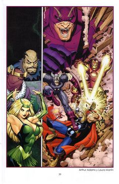 The Avengers Vol 1 #7 by Arthur Adams