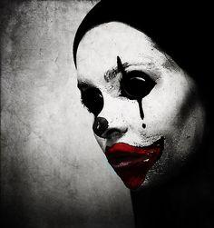 DeviantArt: More Like Oil Painting Sad Clown by Art-Sprinkle Le Clown, Clown Faces, Creepy Clown, Sad Faces, Dark Photography, Creative Photography, Mime, Dark Circus, Hip Hop Instrumental