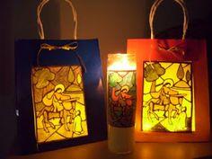 Martinmas lanterns nov 9 feast day of St. Martin of Tours