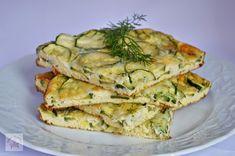 Frittata cu dovlecei si marar - CAIETUL CU RETETE Lasagna, Quiche, Zucchini, Foodies, Food And Drink, Healthy Recipes, Healthy Food, Yummy Food, Chicken