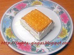 Frozen Yogurt, Sandwiches, Cheesecake, Ice Cream, Favorite Recipes, Sweet, Desserts, Greek Beauty, Food